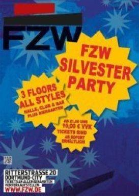 Party Silvester Party Fzw Freizeitzentrum West In Dortmund