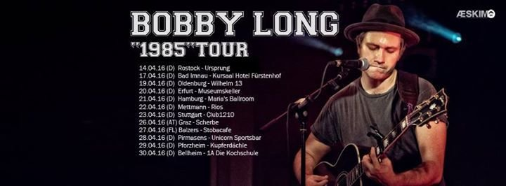 Bobby Long Ode To Thinking Tour