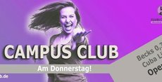 Campus Club [mit Partyaktion]