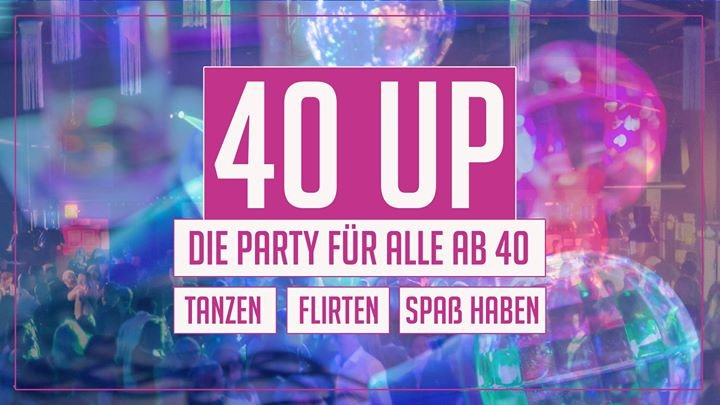 party 40 up party die kantine in k ln. Black Bedroom Furniture Sets. Home Design Ideas