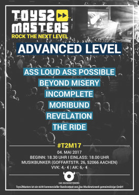 Toys2Masters-Bandcontest - Advanced Level 2017 (Tag 2)