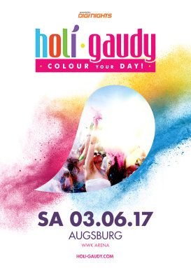 HOLI GAUDY - colour your day - Augsburg