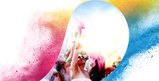 HOLI GAUDY - colour your day - CH-Luzern-Emmen