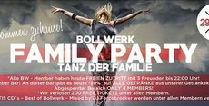 Bollwerk Family PARTY – TANZ der Familie!