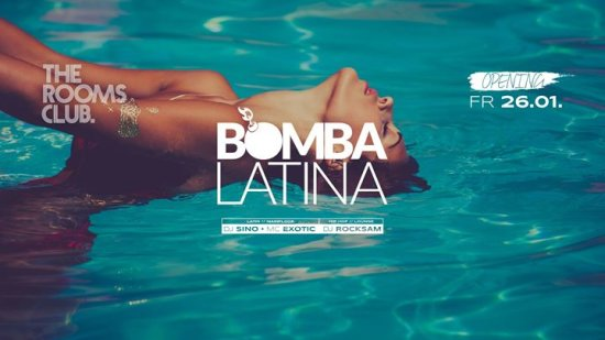 Bomba Latina // The Rooms Club Heilbronn // Opening
