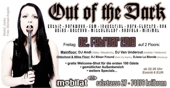 OUT of the DARK im mobilat club