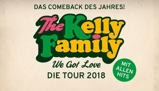 The Kelly Family - We Got Love Die Tour 2018 I Trier