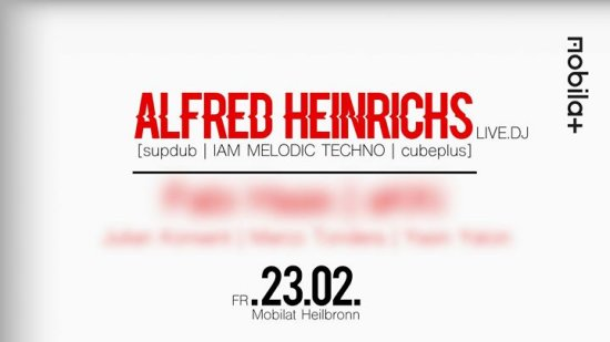 ReadyForTechno at Mobilat w/ Alfred Heinrichs, TBA