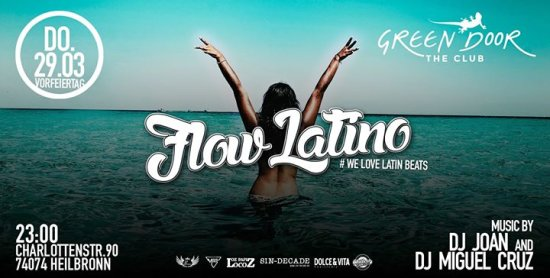 Flow Latino Meets Green Door Heilbronn