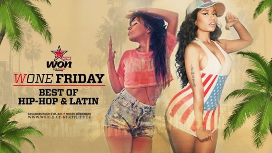WONE Friday - Best of HipHop & Latin //