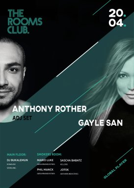 Anthony Rother & Gayle San // Global Player