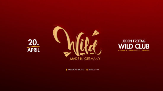 W I L D ! ? ☆ MADE IN GERMANY ☆ DJ SHIMMY