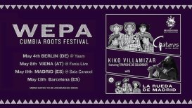 Prende La Vela presents: WEPA! Cumbia Roots Festival Berlin