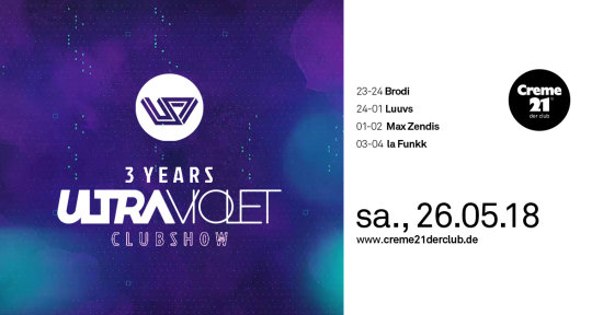 3 Years ULTRAVIOLET Clubshow