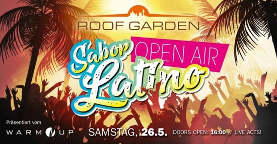 Sabor Latino Hannover ✪ OPEN AIR ✪ Reggaeton Party