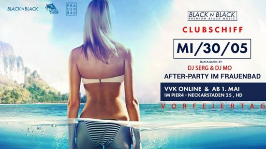 BLACK N BLACK | Clubschiff + Afterparty Frauenbad