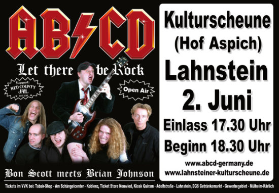 AC/DC - AB/CD tribute Show