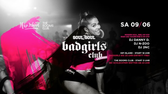 Soul2Soul Badgirls Club Afterparty
