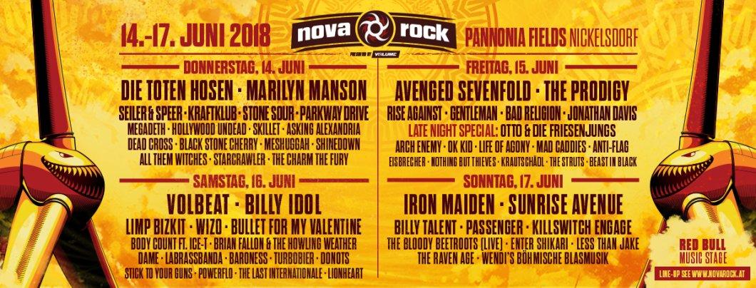 Festival Nova Rock Festival 2018 Pannonia Fields Ii In