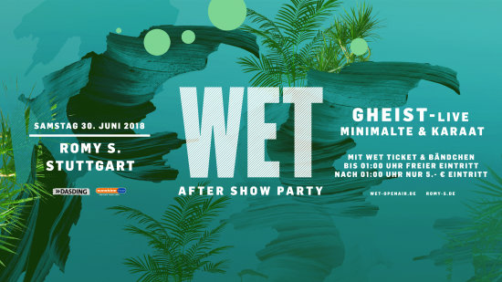 WET – Official Aftershow Party & We Are LCMTN