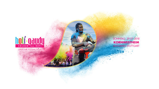 HOLI GAUDY - colour your day - Stuttgart-Kornwestheim