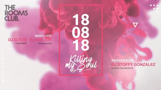 KMS | Killing my Soul / G-Tox, Djane Joy & Dj Stoffy Gonzalez