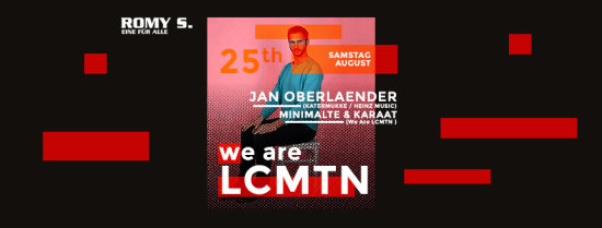 We Are LCMTN w./ Jan Oberlaender