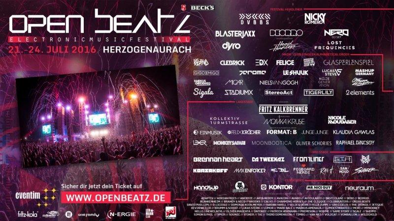 open beatz festival tickets dates events partypics. Black Bedroom Furniture Sets. Home Design Ideas