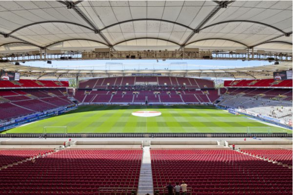 Mercedes benz arena stuttgart hallen und stadien for Mercedes benz stadium location